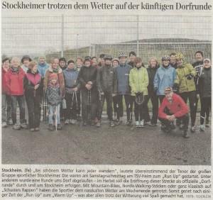 20160423 Stockheim Dorfrunde